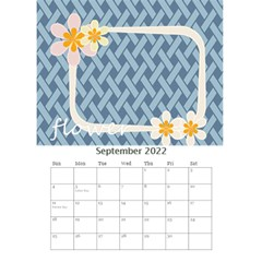 Flower Worlds By Joely   Desktop Calendar 6  X 8 5    95v6gzgs3lea   Www Artscow Com Sep 2015