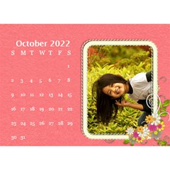 2015 Flower Faith   8 5x6 Calendar By Angel   Desktop Calendar 8 5  X 6    W0wmvpdj8qgv   Www Artscow Com Oct 2015