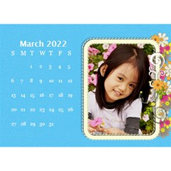 2015 Flower Faith   8 5x6 Calendar By Angel   Desktop Calendar 8 5  X 6    W0wmvpdj8qgv   Www Artscow Com Mar 2015