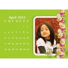 2015 Flower Faith   8 5x6 Calendar By Angel   Desktop Calendar 8 5  X 6    W0wmvpdj8qgv   Www Artscow Com Apr 2015