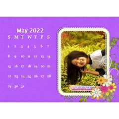 2015 Flower Faith   8 5x6 Calendar By Angel   Desktop Calendar 8 5  X 6    W0wmvpdj8qgv   Www Artscow Com May 2015