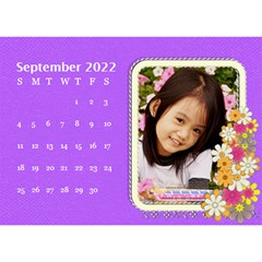 2015 Flower Faith   8 5x6 Calendar By Angel   Desktop Calendar 8 5  X 6    W0wmvpdj8qgv   Www Artscow Com Sep 2015