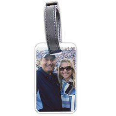 Courtneyluggage By Sandra Oldham   Luggage Tag (two Sides)   Nke5cmbjugc4   Www Artscow Com Front