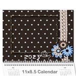 2015 wall calendar 11x8.5 - Wall Calendar 11  x 8.5  (12-Months)
