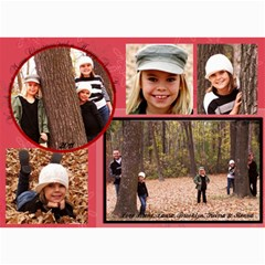 2011 Christmas Card By Laura   5  X 7  Photo Cards   Gh752d0cmrcg   Www Artscow Com 7 x5 Photo Card - 1