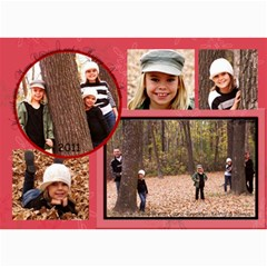 2011 Christmas Card By Laura   5  X 7  Photo Cards   Gh752d0cmrcg   Www Artscow Com 7 x5 Photo Card - 4