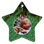 Christmas Star Ornament - Star Ornament (Two Sides)