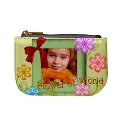 Flower Child By Joely   Mini Coin Purse   Rx4xvcyjxlya   Www Artscow Com Front