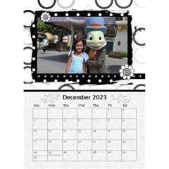 2015 Balck By Angel   Desktop Calendar 6  X 8 5    Nwpdt5mm8tat   Www Artscow Com Dec 2015