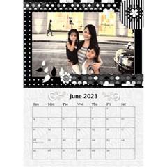 2015 Balck By Angel   Desktop Calendar 6  X 8 5    Nwpdt5mm8tat   Www Artscow Com Jun 2015