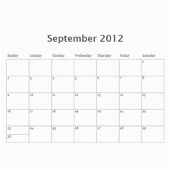 2012 D R  Calendar By Kathie Thomas   Wall Calendar 11  X 8 5  (12 Months)   Xlcznb93bor2   Www Artscow Com Sep 2012
