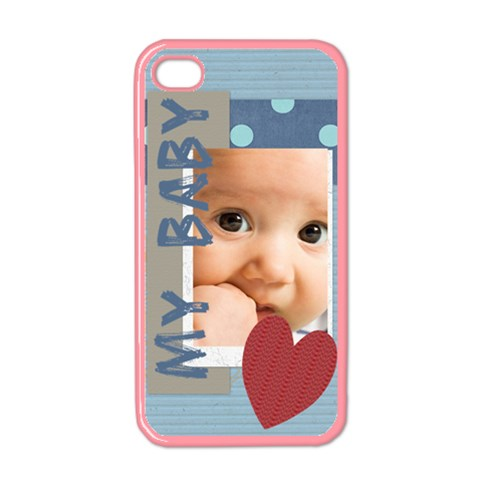 Baby Boy By Joely   Apple Iphone 4 Case (color)   Dtff2c5ticre   Www Artscow Com Front