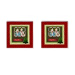 christmas - Cufflinks (Square)