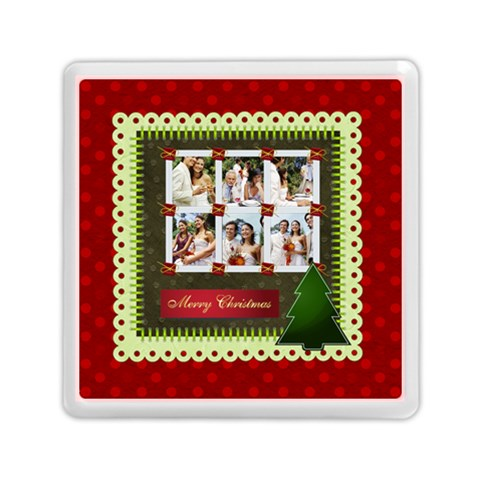 Christmas By Joely   Memory Card Reader (square)   Cq37oz7v69xv   Www Artscow Com Front