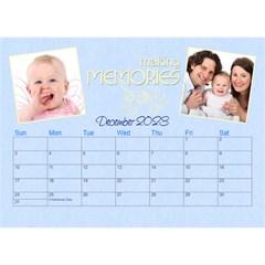 2016 Serenity Blue Desktop Calendar 8 5x6 By Picklestar Scraps   Desktop Calendar 8 5  X 6    Vrbzc66srpr6   Www Artscow Com Dec 2016