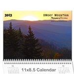 2012 Calendar Smoky Mountains - Wall Calendar 11  x 8.5  (12-Months)