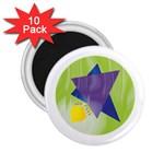 Jewish Star Menora 2.25  Magnet (10 pack)