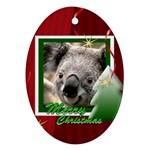 christmas - Ornament (Oval)