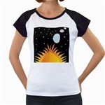 Cosmos Women s Cap Sleeve T