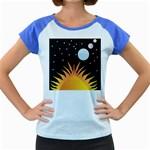 Cosmos Women s Cap Sleeve T-Shirt