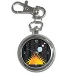 Cosmos Key Chain Watch