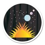 Cosmos Magnet 5  (Round)