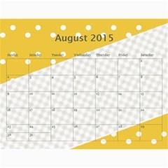 Happy Family Calendar By Daniela   Wall Calendar 11  X 8 5  (12 Months)   O4w40lstoa9v   Www Artscow Com Aug 2015