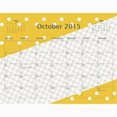 Happy Family Calendar By Daniela   Wall Calendar 11  X 8 5  (12 Months)   O4w40lstoa9v   Www Artscow Com Oct 2015