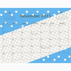 Happy Family Calendar By Daniela   Wall Calendar 11  X 8 5  (12 Months)   O4w40lstoa9v   Www Artscow Com Nov 2015