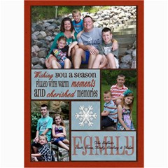 3 Photo Family Christmas Card By Lana Laflen   5  X 7  Photo Cards   O7b5gczjv7y8   Www Artscow Com 7 x5 Photo Card - 4