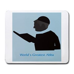 World s Best Father (English) Large Mousepad by compugraphd