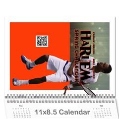 Harlem Calendar2012 By Cyril Gittens   Wall Calendar 11  X 8 5  (12 Months)   Zl6cre093w6r   Www Artscow Com Cover