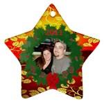 star ornament 1 - Ornament (Star)