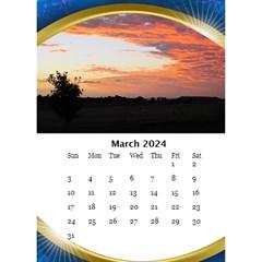 Desktop Calendar With Class In Blue (6x8 5) By Deborah   Desktop Calendar 6  X 8 5    Xi00a2qr6u1k   Www Artscow Com Mar 2017