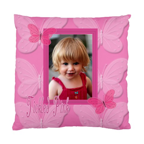 Tickled Pink Pillow By Patricia W   Standard Cushion Case (one Side)   Ije6psw61f1n   Www Artscow Com Front