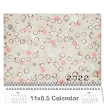 everyday calendar - Wall Calendar 11  x 8.5  (12-Months)