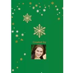 Gold Tree Christmas Card 5x7 By Deborah   Greeting Card 5  X 7    3yn3tgiehfrh   Www Artscow Com Back Cover