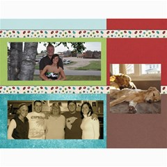 Gift Calendar 2012 By Kristi   Wall Calendar 11  X 8 5  (12 Months)   7blhfibonu1j   Www Artscow Com Month