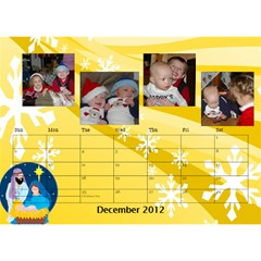 Potvins By Jennifer Degroft   Desktop Calendar 8 5  X 6    G3omyjwximcq   Www Artscow Com Dec 2012
