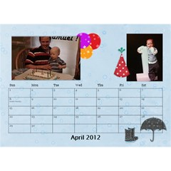 Potvins By Jennifer Degroft   Desktop Calendar 8 5  X 6    G3omyjwximcq   Www Artscow Com Apr 2012
