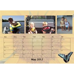 Potvins By Jennifer Degroft   Desktop Calendar 8 5  X 6    G3omyjwximcq   Www Artscow Com May 2012