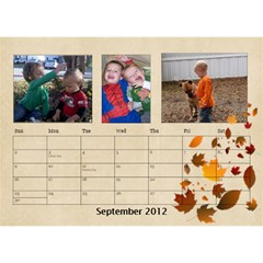 Potvins By Jennifer Degroft   Desktop Calendar 8 5  X 6    G3omyjwximcq   Www Artscow Com Sep 2012