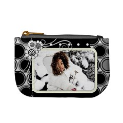 Mini Coin Purse   Black By Angel   Mini Coin Purse   Cclmpzj5dy7r   Www Artscow Com Front
