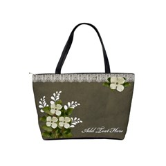 Classic Shoulder Handbag: Memories4 By Jennyl   Classic Shoulder Handbag   Tokk1fntpl28   Www Artscow Com Back
