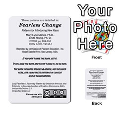 Fearless Journey Strategy Cards V1 0 1 By Deborah   Multi Purpose Cards (rectangle)   Zb5n0xvzb61m   Www Artscow Com Back 52
