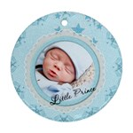 Little Prince Round Ornament (2 Sides) - Round Ornament (Two Sides)