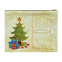 Jolly Santa Extra Large Cosmetic Bag By Catvinnat   Cosmetic Bag (xl)   Dwdkwrsak1rn   Www Artscow Com Back