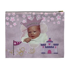 Little Princess Xl Cosmentic Bag By Lil    Cosmetic Bag (xl)   Tufu70qxwfmm   Www Artscow Com Back