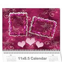 Calendar By Stacy French   Wall Calendar 11  X 8 5  (12 Months)   61l6g41yminu   Www Artscow Com Cover