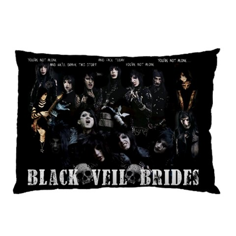 Bvb2 By Victor Hajjar   Pillow Case   I2hzxdbb1dwg   Www Artscow Com 26.62 x18.9 Pillow Case